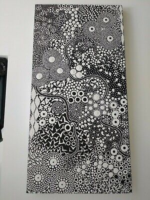 "aboriginal dot art, indigenous. Title ""My Country"""