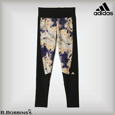 🔥 SALE - Adidas Techfit® Climalite® Tights Girls Age 9-10 13-14 Years
