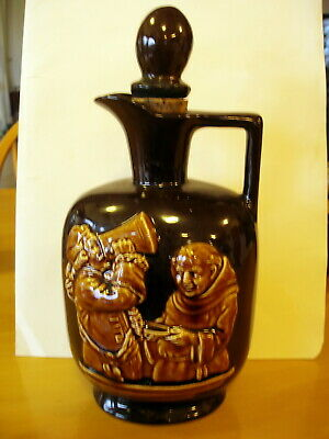 Unusual Vintage Whisky Jug / Decanter .