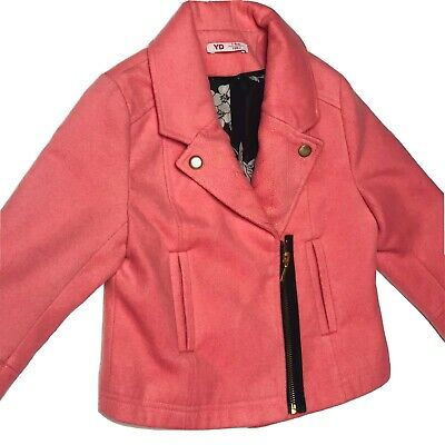 Primark Smart  Pinkish Jacket For Girls Size 7-8 Years