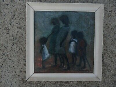 Rare Vintage Aboriginal? Oil Painting