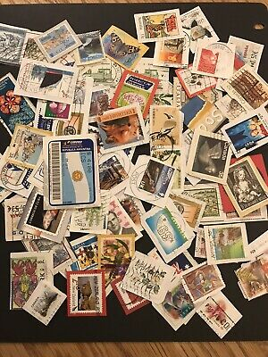 World Charity Kiloware, 60 Grams - Assorted Used Stamps. Lot 2