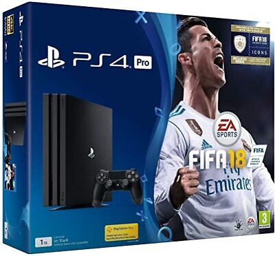 BRAND NEW Playstation 4 PS4 Pro 1TB Console + FIFA 18