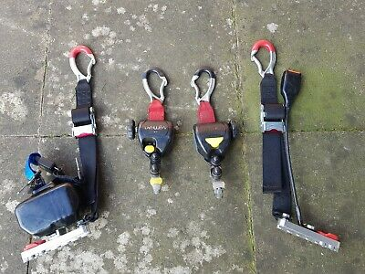 *Full Set Unwin Quattro Wheelchair Straps / Clamps / Restraints No Vat Fast P&P*
