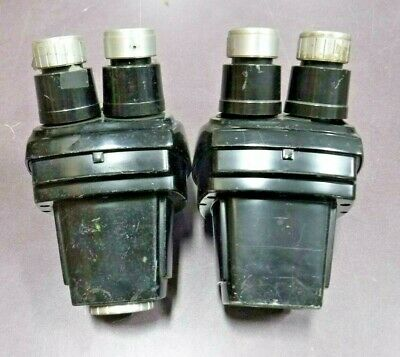 Bausch & Lomb 1X - 2.5X Stereo Zoom Microscope Head (NO Objectives) Lot of 2