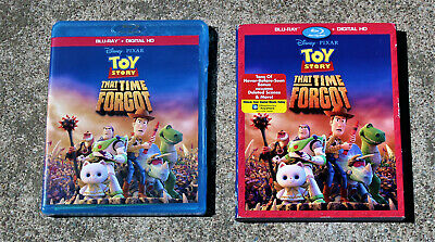"Disney ""Toy Story That Time Forgot"" Blu-Ray + Slipcover (No Digital) Like New"