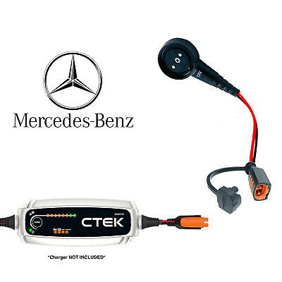 Mercedes Benz SLS Battery Charger CTEK Magnetic Adapter