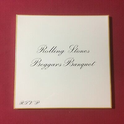 """The Rolling Stones, 50th year-Beggars Banquet #UIGY-9709, 7"""" Flexi-disc SEALED"""