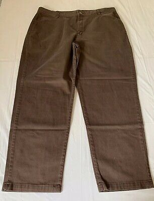 Womens Stretch Riders By Lee Jeans Size 20W M Brown