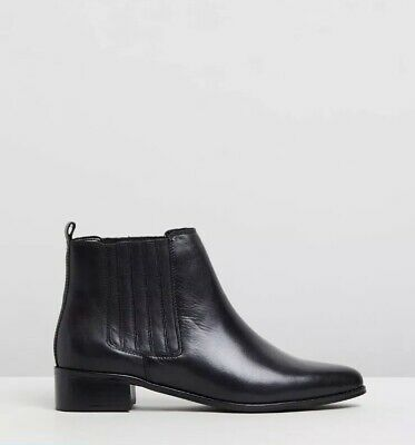 Atmos&here Viviana Leather Ankle Boots New The Iconic