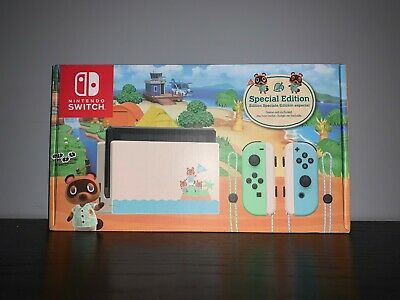 Brand New Animal Crossing: New Horizons Nintendo Switch Console