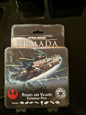 Star Wars Armada Rebel Fighter Squadrons Expansion Pack Ship New Factory Sealed
