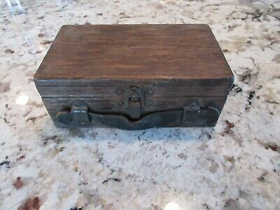 Vintage Gold Miners Scale Weight Set and Box  No Scale