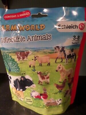 Schleich Farm World Collectible Animals Series 2 ~ Retired ~ New /& Sealed USA