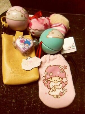 Little Twin Stars Sanrio Japan Lot Plush Strap Phone Case Keychain Etc My Melody