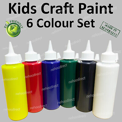 Kids Craft Paint Set | Non-toxic | No chemicals safe for use at home | washable