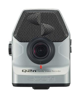 ZOOM Handy Video Recorder Q2n/S Silver Built-in XY Mic New in Box