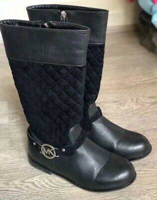 Michael Kors Girls Boots Size 34 Euro 3 US