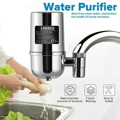 NEW Tap Faucet Water Filter Purifier System Kitchen Faucet Cleaner Home Purifier