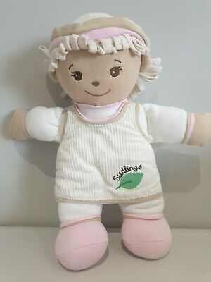 """Seedlings Goldberger Baby Blossom  Doll Pink Famous Hard to Find """"Very Rare"""" B"""