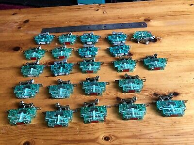 joblot 23 Micro Switches Roller Type