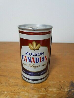 Molson Canadian Lager Steel Can