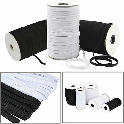 3/6/9/12mm Stretch Flat Elastic Waist Band for Woven Sewing Trouser Dressmaking