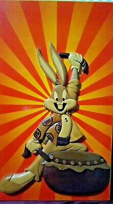 Bugs Bunny Wooden Display (Winco Wooden Fine Arts) - USED