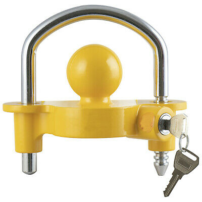 G4rce Universal Anti Theft Boat Tractor Trailer Hitch Ball Coupler Lock