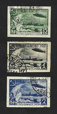 Russia 1931 North Pole issue … IMPERFS