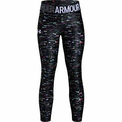 Bnwt -  Girls Under Armour Graphic Leggings -  - Size Yxl 15-16 Yrs