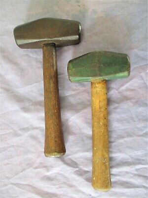Lot Of 2 4 Lb Sledge Hammers Marked True Temper & N