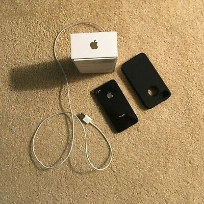 Apple iphone with charging cord and Otter Box cover
