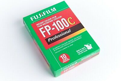 Fuji FP-100C professional instant color film Exp. 5-2018 1 box (10 prints)