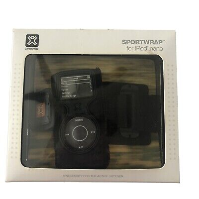 XtremeMac Sportwrap Ipod Nano Arm Or Wristband Case NEW Water Resistant #TS