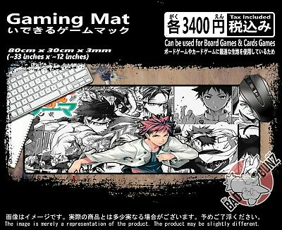 Food Wars 77 Razor Edged TCG CCG MTG D&D YuGiOh Trading Card Game Mouse Play Mat