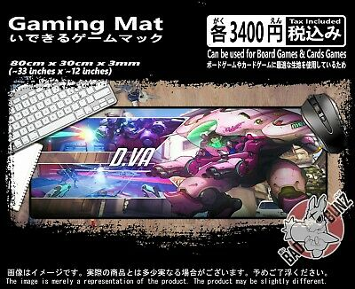 Overwatch 100 Razor Edged TCG CCG MTG D&D YuGiOh Trading Card Game Mouse Mat