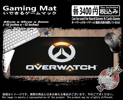 Overwatch 102 Razor Edged TCG CCG MTG D&D YuGiOh Trading Card Game Mouse Mat