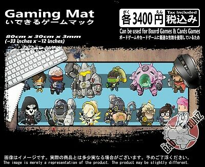 Overwatch 103 Razor Edged TCG CCG MTG D&D YuGiOh Trading Card Game Mouse Mat