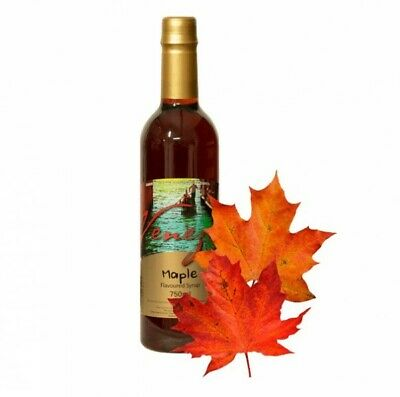 NEW Maple Flavoured Coffee Syrup - 750ml - EACH - Kent Paper