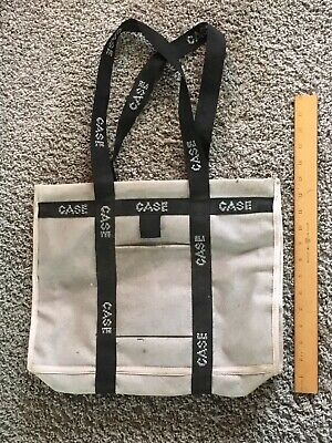J. I. Case Tractor Promotional Advertising Tote Bag