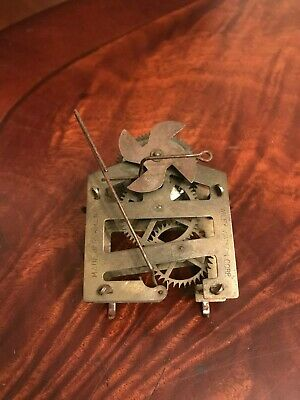 Antique German Cuckoo Clock Movement Part Germany Wiley Watson Corp Old