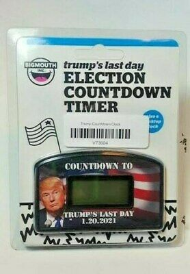 President Donald Trump - Last Day ElectIon Countdown Desktop Timer BigMouth Inc