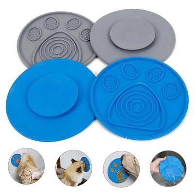 Dog Bowl Slow Feeder Lick Pad Pet Grooming Toy Bath Buddy with Suction Pads
