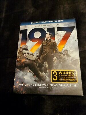 1917 Blu-ray + DVD.. No Digital copy...Please Read Description! Like new!!