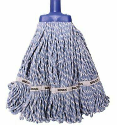 NEW Sabco Professional Premium Grade Loop Mop Head 350g Heavy Duty Blue