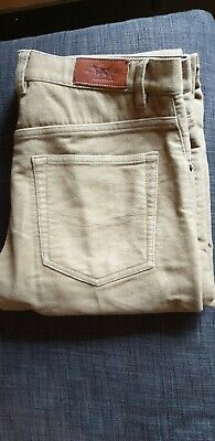 mens solid cotton pants by Rodd & Gunn. 34/30. Good condition