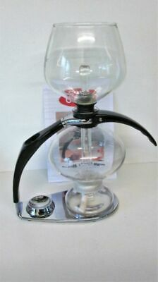 Cona Coffee Maker Ctm 0.85 Litre ( 1.5 Pints) Excellent Cond.chrome Finish Stand