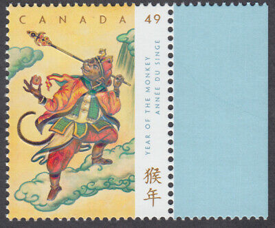 Canada - #2015 -  Year Of The Monkey  - MNH