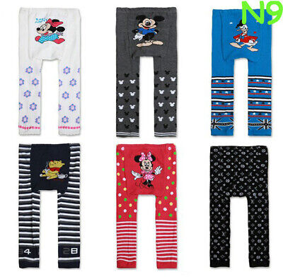 New Girls Boys Baby Toddler Animal  Busha Footless Tights - BNWT